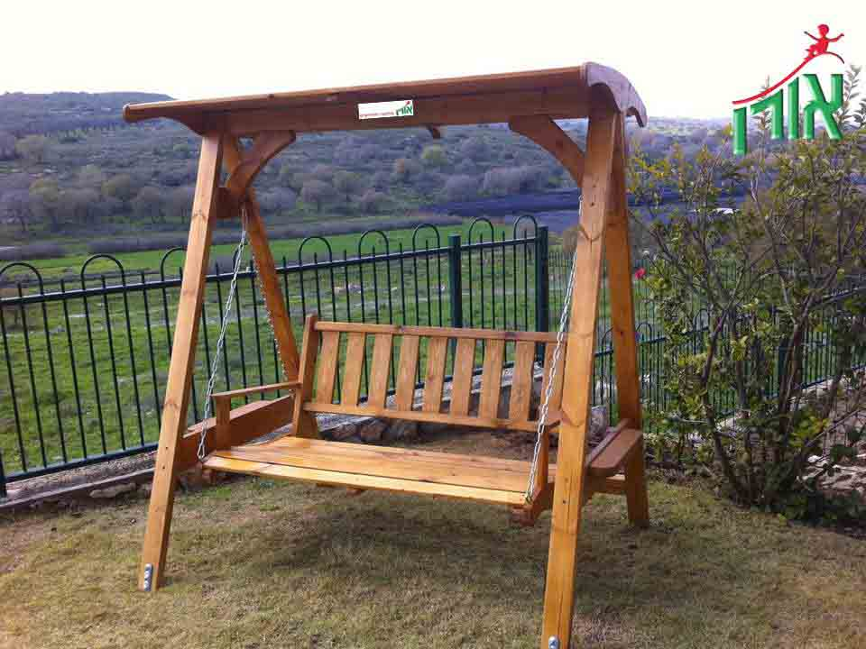 BackYard Wooden swing - 7305