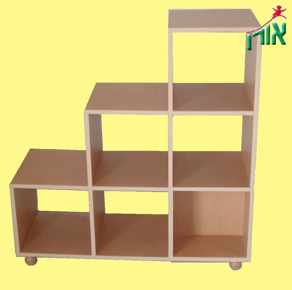 Kindergarten Furniture - 6 Cubes rated book cabinet - 5107