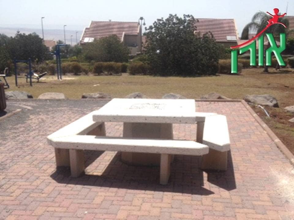 Concrete Street Furniture - Concrete tables and benches - 3504