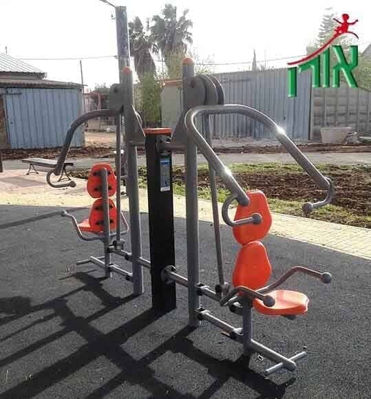 Outdoor Fitness Equipment Adjustable Shoulder Press - double - 2124D