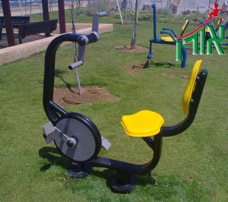 Outdoor Fitness Equipment Bikes and legs - 2097N