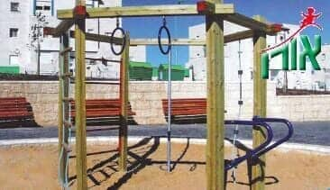 Outdoor Training Equipment - Hexagonal wooden sports facility - 1700
