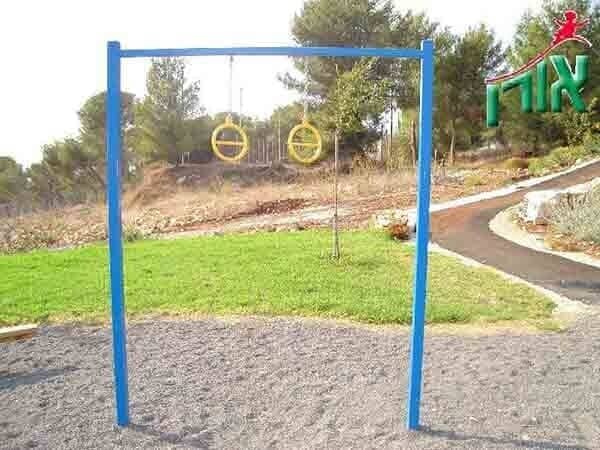 Outdoor Training Equipment - Pull up bar rings Sports facility - 1703