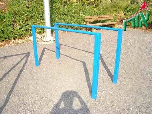 Outdoor Training Equipment - Metal parallel bars sports facility - 1705