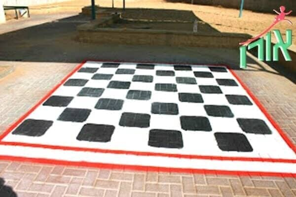 Floor Games For Children - Chess - Checkers floor game - 9010