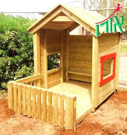 Kids Playhouses with balcony - 1322