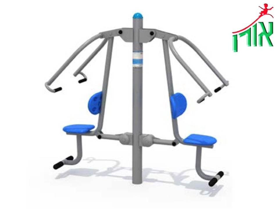 Outdoor Gym Equipment - Push - double - 14415DL