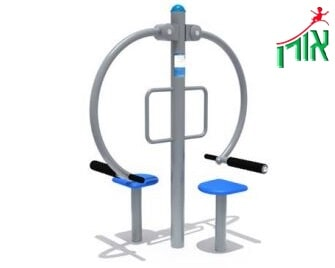 Outdoor Gym Equipment - Multi trainer - double - 14206DL