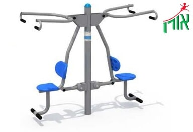 Outdoor Gym Equipment - Pull - double - 14404DL