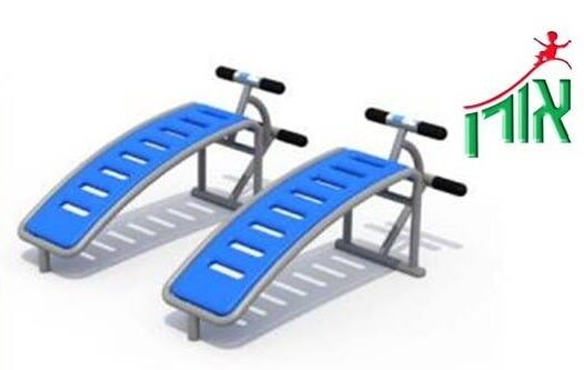Outdoor Gym Equipment - Sit-Up Bench - double - 2107DL