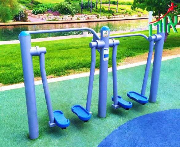 Outdoor Gym Equipment - Air Walker - double - 2101DL