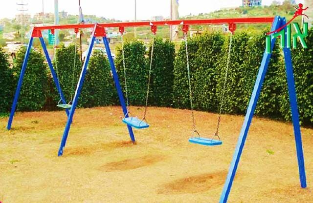 Children's Swing set 3 seats - 1401