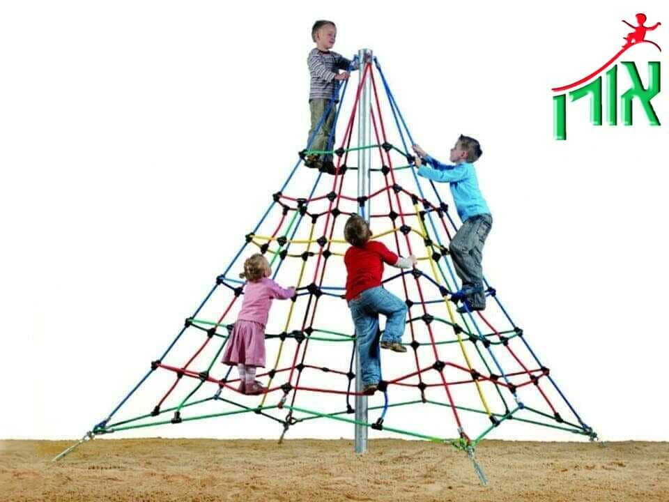 Extreme Playground Equipment Rope Pyramid 3m high - 6101