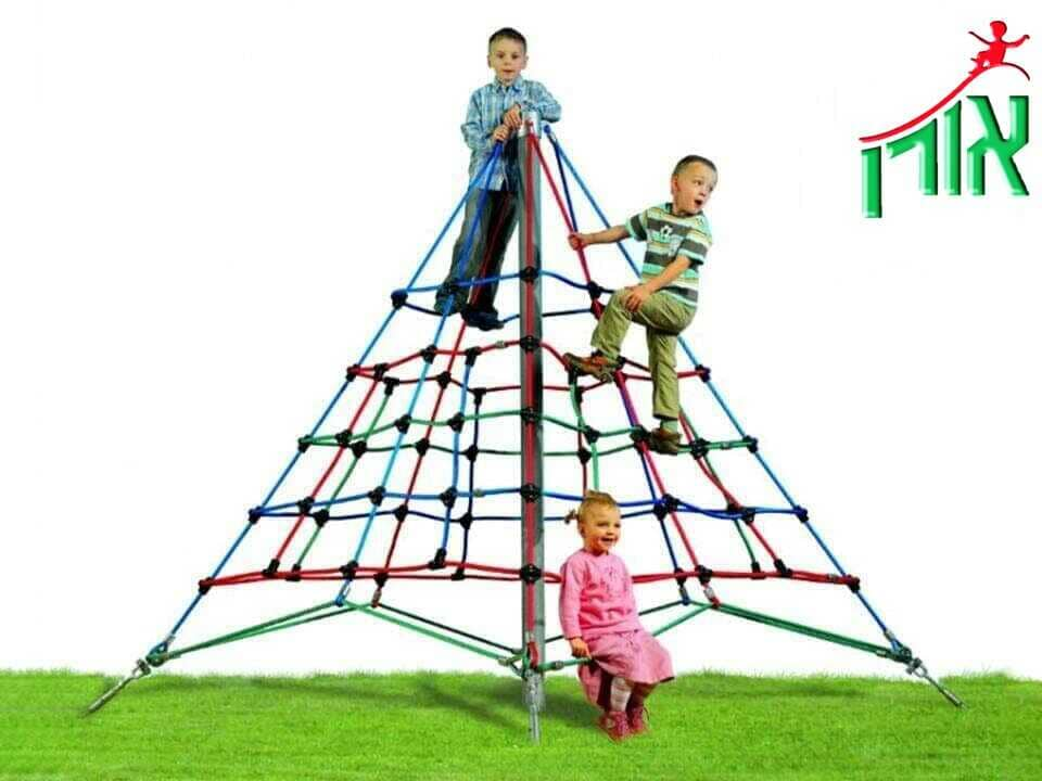 Extreme Playground Equipment Rope Pyramid 2.5m high - 6102