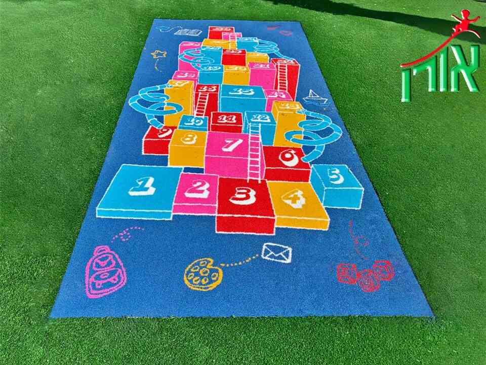 Snakes And Ladders Floor Game - Synthetic Grass - 8901