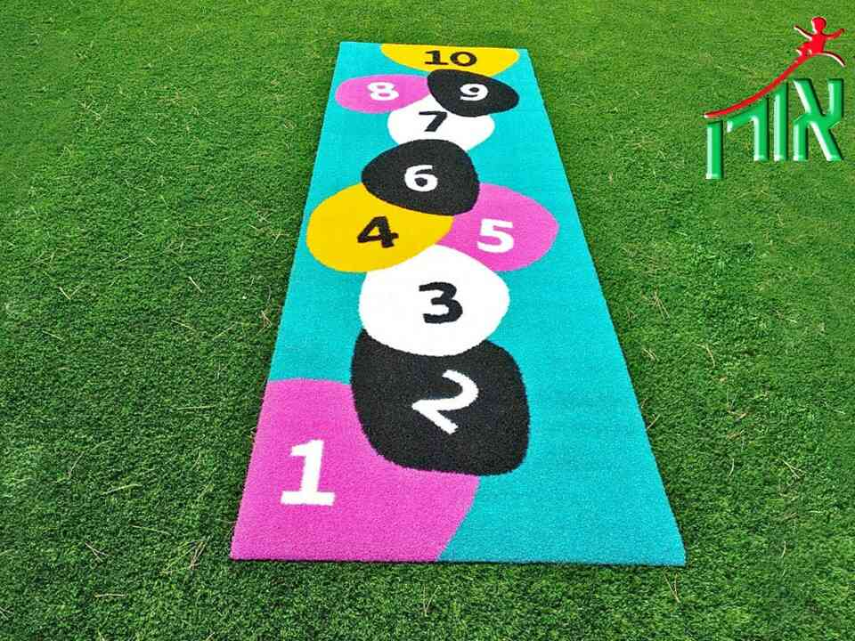Hopscotch Floor Game - Synthetic Grass - 8900