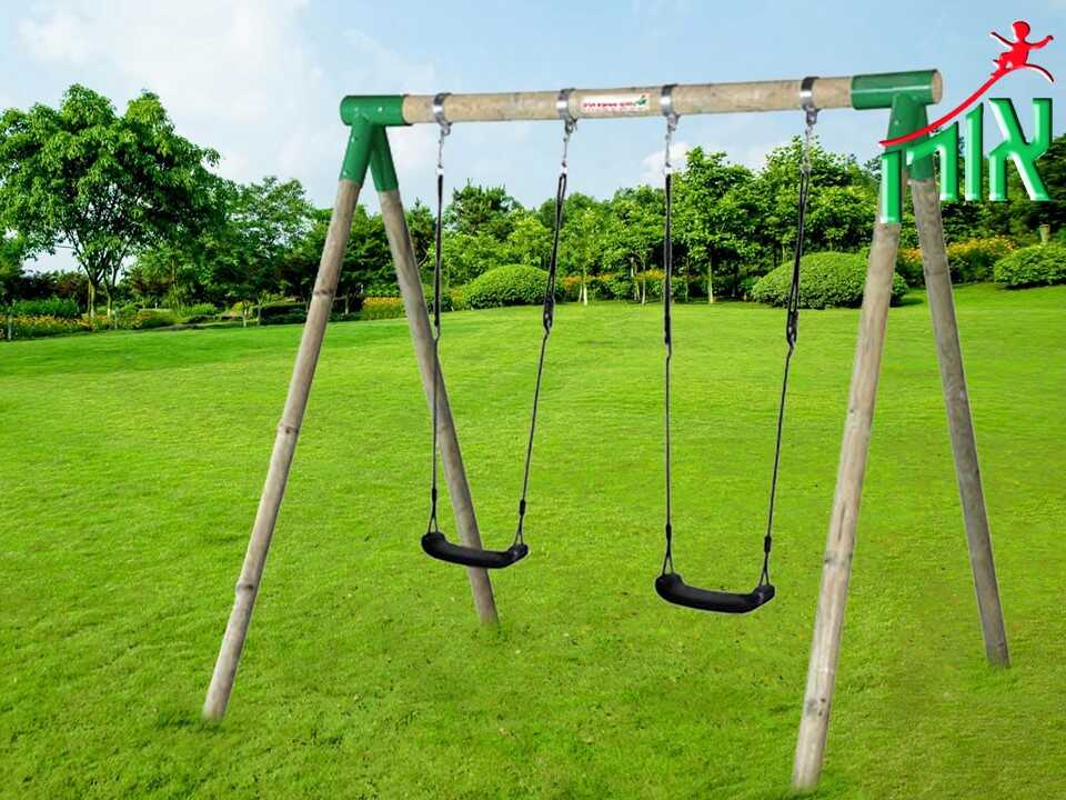 BackYard Playground Equipment - BackYard Children's Swings Set - 7150