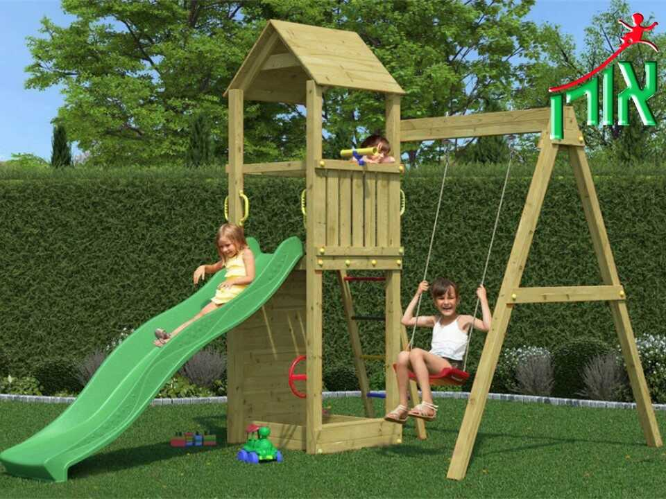 BackYard Playground Equipment - Lilac - 7003