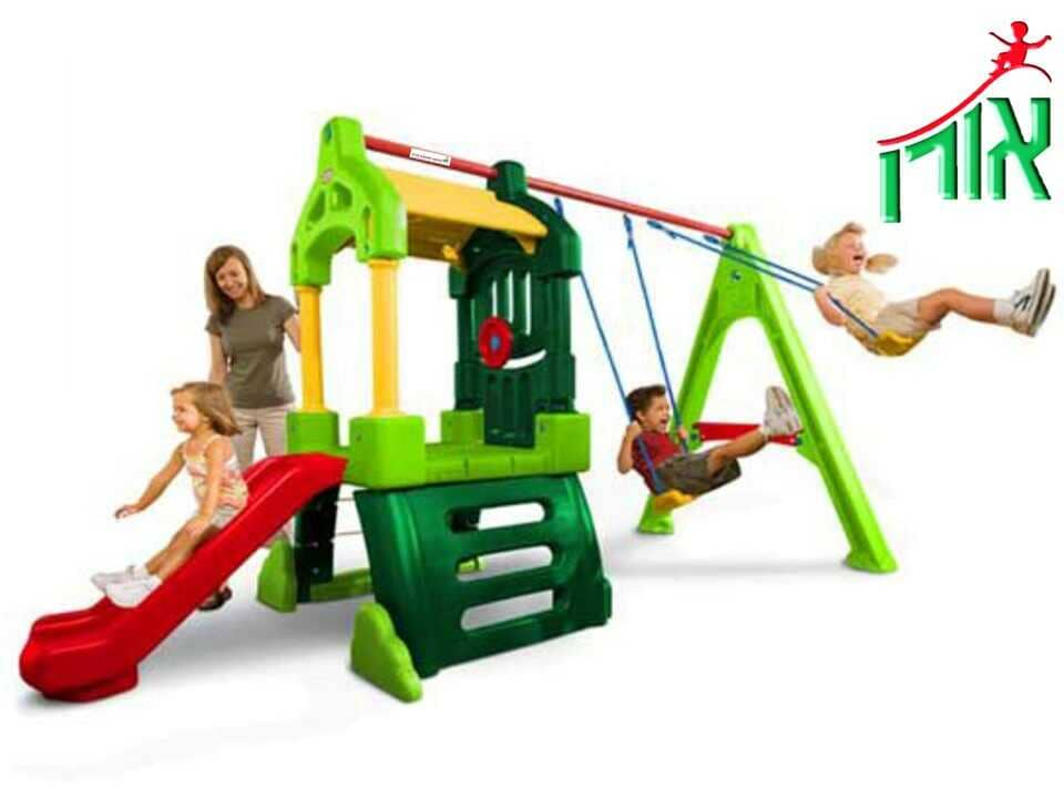 BackYard Playground Equipment - Designed Plastic Playground Equipment for yard - 7105